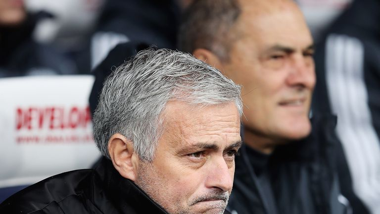 Jose Mourinho criticised his Manchester United players' attitude in the defeat to Huddersfield