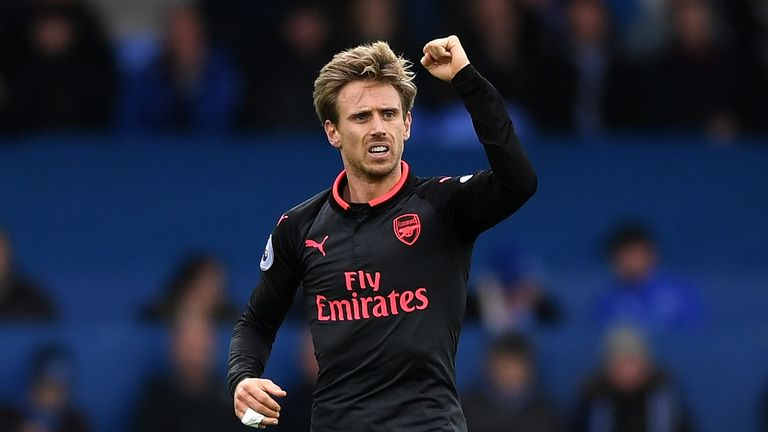 Nacho Monreal scored his second goal of the season