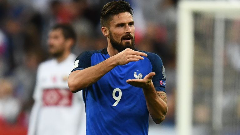 Will Olivier Giroud make a positive impact for France in Russia?