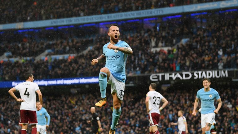 Nicolas Otamendi has been a key figure in Man City's defence