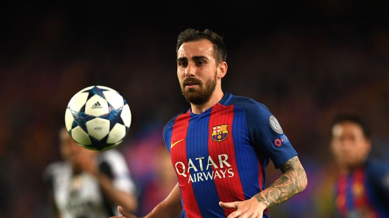 Paco Alcacer has been linked with a move away from Barcelona