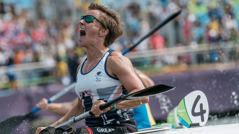 Emma Wiggs has completed the Grand Slam of major para-canoe titles