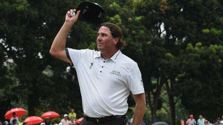 Perez closed with a 69 to claim his third PGA Tour title