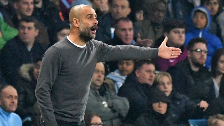 The Manchester City manager claimed the Mitre ball was 'unacceptable'