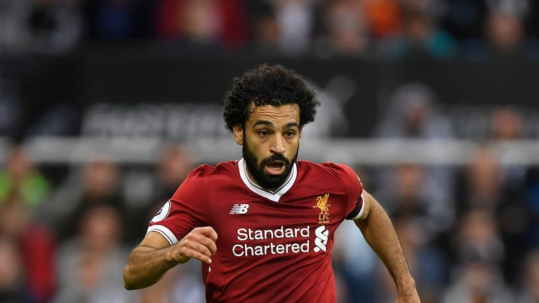 Mohamed Salah could become the first Egyptian player to feature in a Liverpool-Man Utd Premier League game