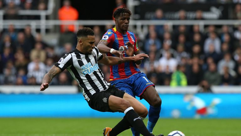 Jamaal Lascelles and the Newcastle defence kept Crystal Palace at bay