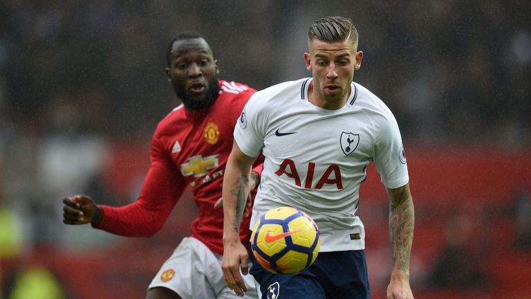 Toby Alderweireld is the best centre-back on the planet, says Merse