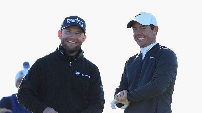 Branden Grace, playing alongside McIlroy, carded a two-under 70