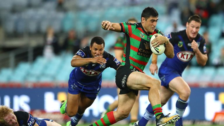 Bryson Goodwin is bedding in at Warrington since signing from the South Sydney Rabbitohs