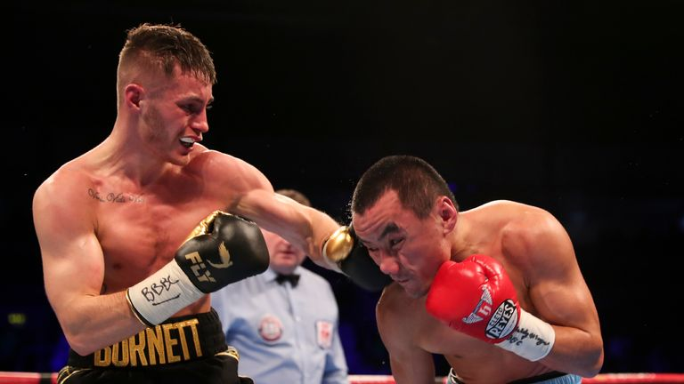 The Belfast man battled to a points win over Zhakiyanov in October