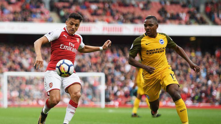 Sanchez was Arsenal's standout performer against Brighton
