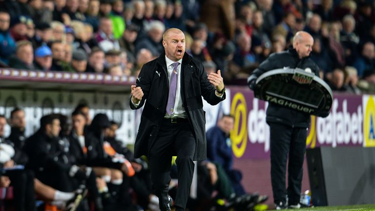 Dyche has guided Burnley to seventh in the Premier League table