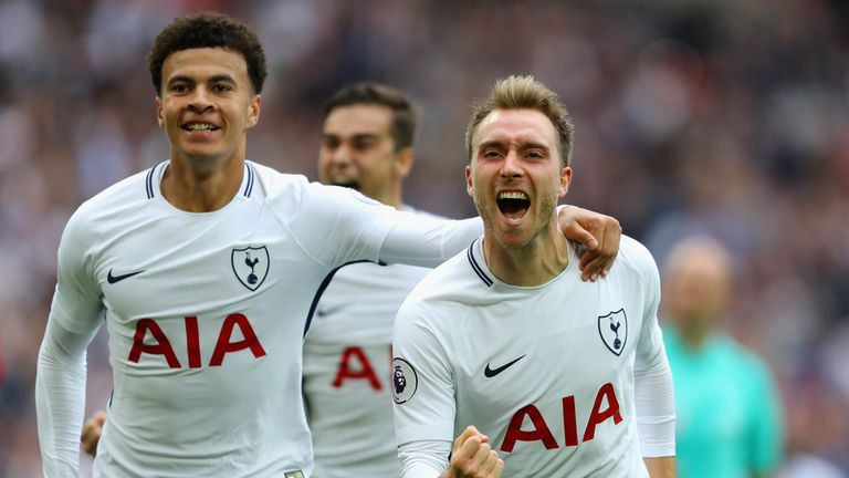 Dele Alli and Christian Eriksen are other players being watched across Europe