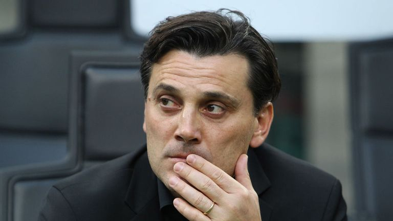 Vincenzo Montella took over at Sevilla in late December