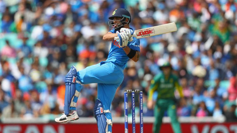 India captain Virat Kohli has enjoyed another record-breaking year