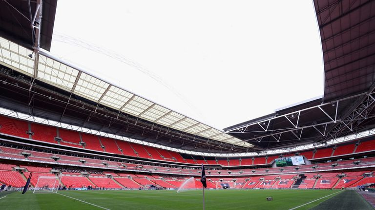 Fans face a challenge getting to Wembley for England's game with Slovenia