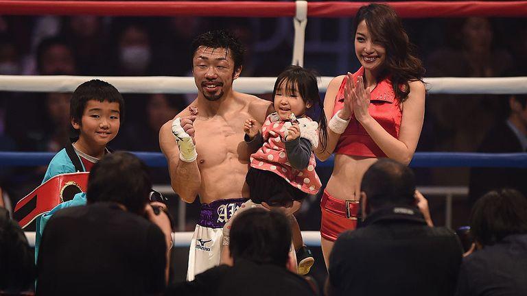Akira Yaegashi's IBF light-flyweight was the third of his world-title treble