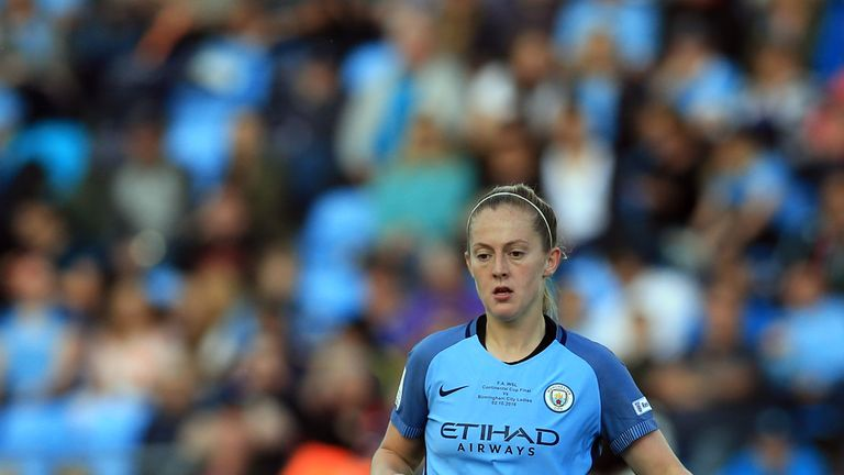 Man City Women's midfielder Keira Walsh won last year's female rising star award
