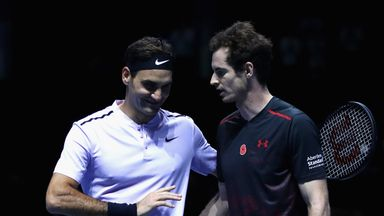 Roger Federer says anybody would substitute their career for Andy Murray's