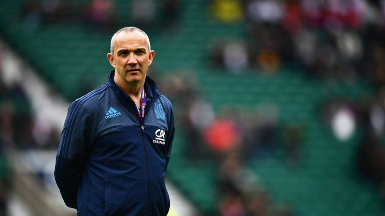 Italy head coach Conor O'Shea is hoping his side can take a step forward in 2019