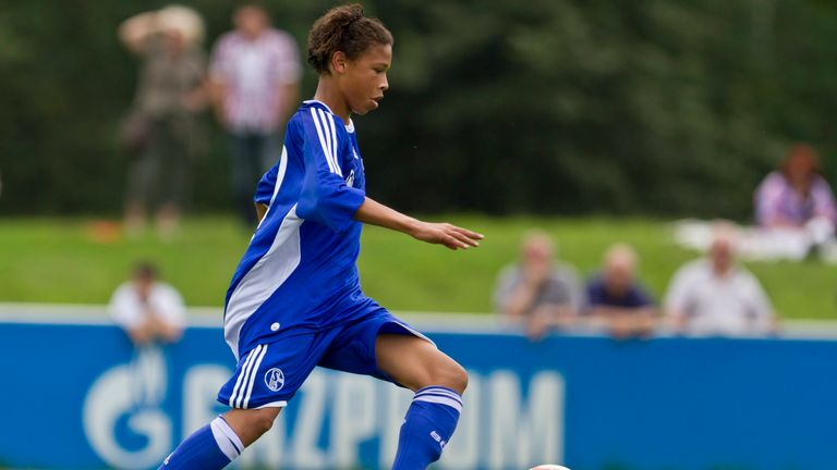 In action for Schalke's under-17 side in August 2011 (Credit: FC Schalke 04)