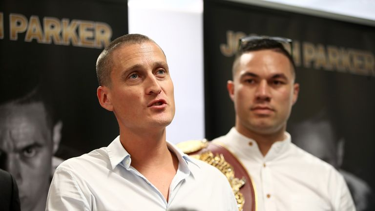 David Higgins is considering other options for WBO king Parker