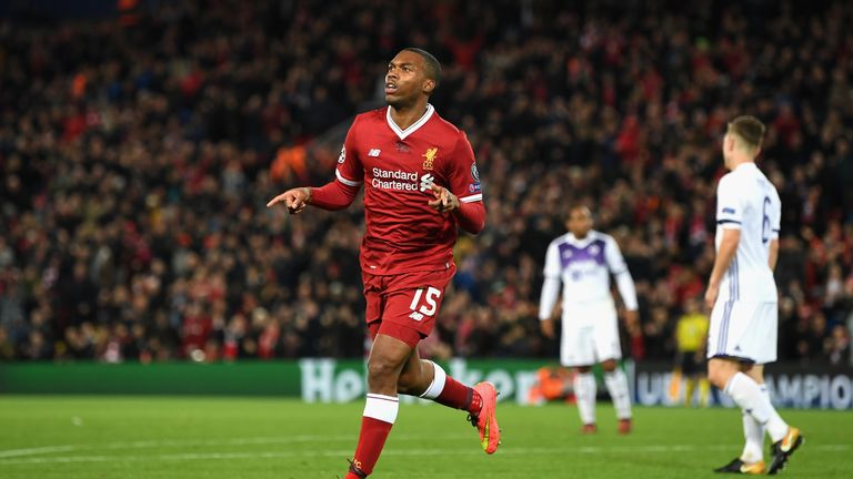 Sturridge has scored three times in all competitions
