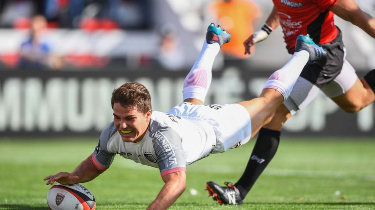 Toulouse scrum-half Antoine Dupont will make his first start for France