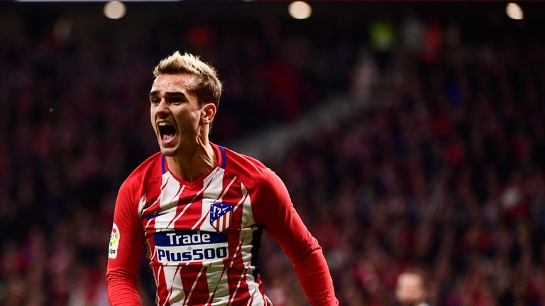 Antoine Griezmann says he does not regret staying at Atletico Madrid