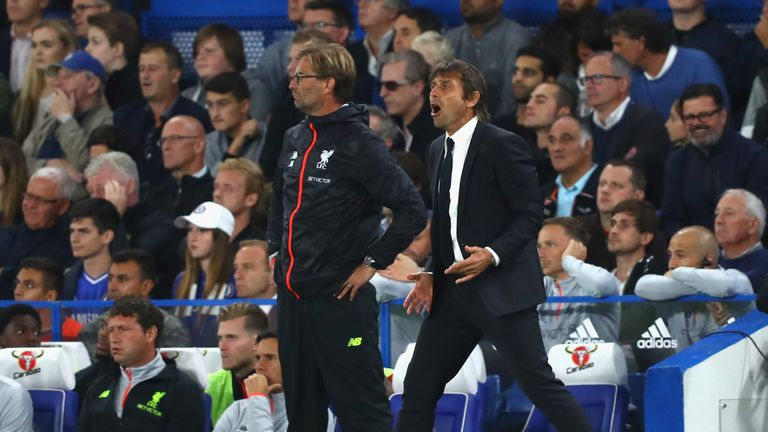 Antonio Conte believes his Chelsea side deserved three points against Liverpool