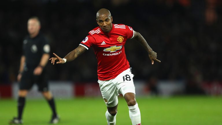 Ashley Young feels Manchester United can take momentum from their success this season