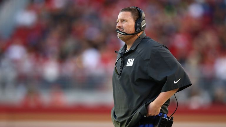Is Giants head coach Ben McAdoo set to be the first firing of the 2017 season?
