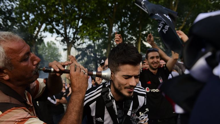 Besiktas are considering selling club-branded ear-plugs for their noisy supporters