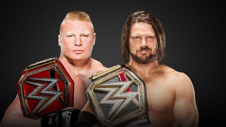 Brock Lesnar and AJ Styles clash at Survivor Series in a huge match-up