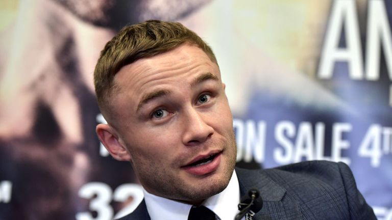 Carl Frampton will fight Nonito Donaire on April 7