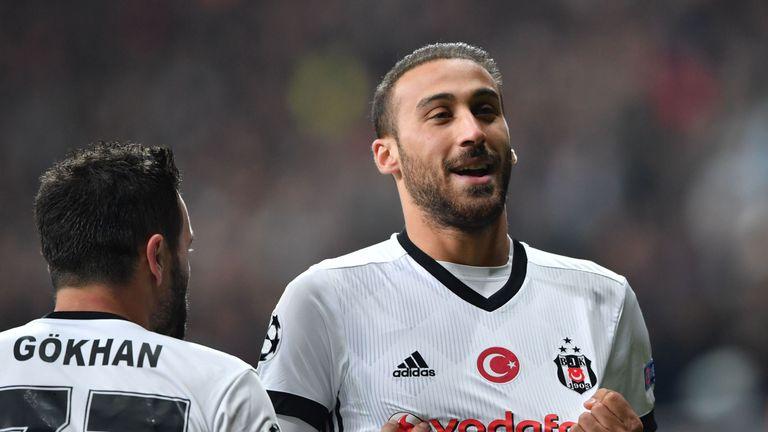 Cenk Tosun has attracted Premier League interest