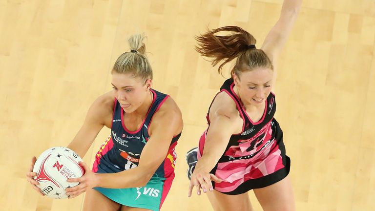 Clarke has decided to play her domestic netball back in England after arriving from Adelaide Thunderbirds