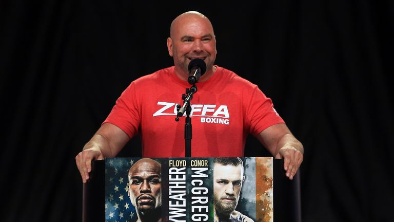 White says the UFC could soon be promoting their own boxing shows