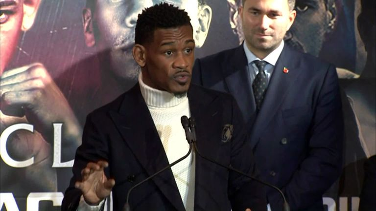 Daniel Jacobs faces Maciej Sulecki in New York on April 28, live on Sky Sports