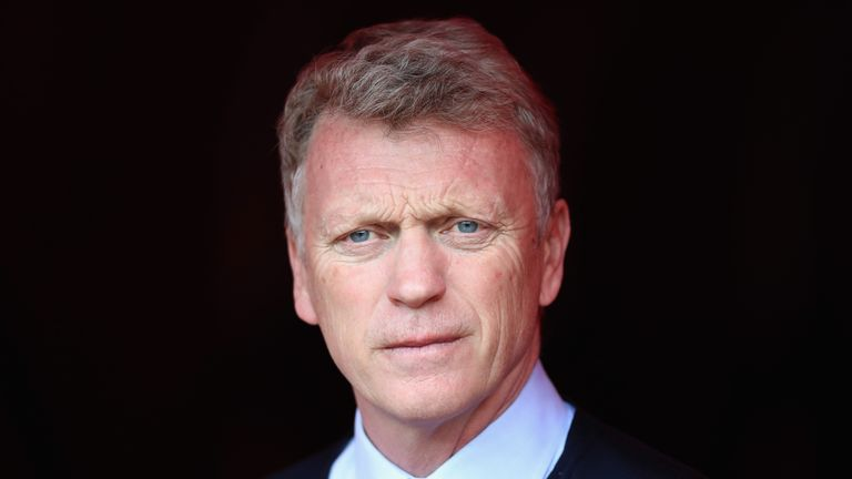 David Moyes replaced Ferguson as Manchester United manager