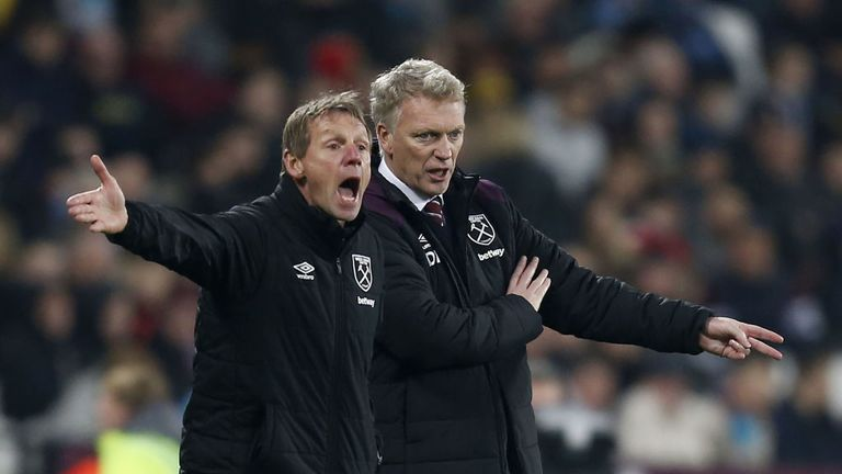 Moyes picked up the first point of his Hammers tenure in a 1-1 draw against Leicester on Friday