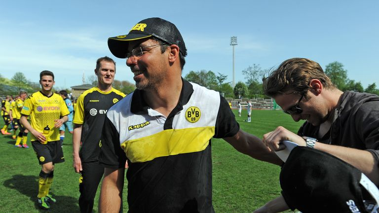 Wagner won promotion to Germany's third tier with Borussia Dortmund II