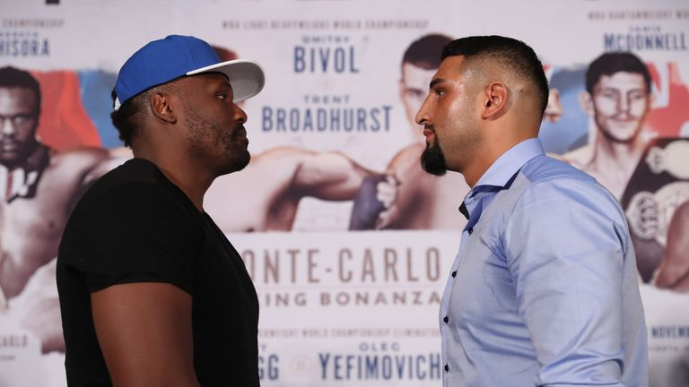 Dereck Chisora battles Agit Kabayel for the European heavyweight title this Saturday night, live on Sky Sports