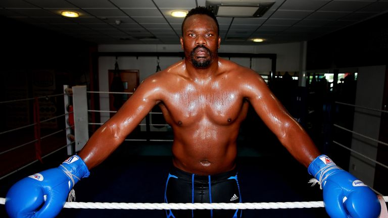 A choice of music is a good indication of Chisora's mood in the gym