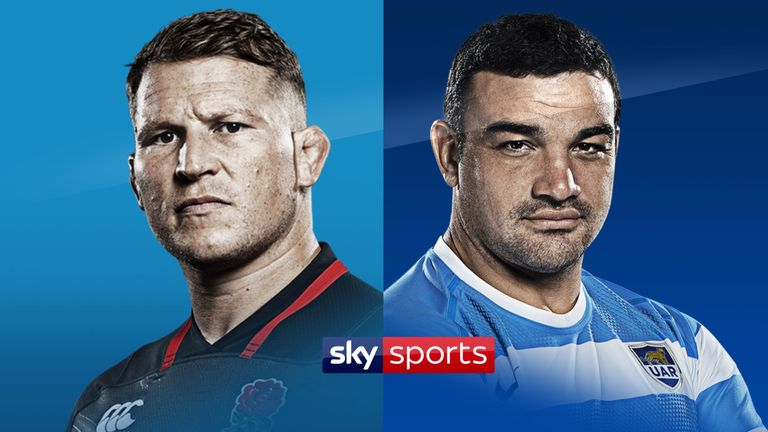 Who will lead their side to victory on Saturday, Dylan Hartley or Agustin Creevy?
