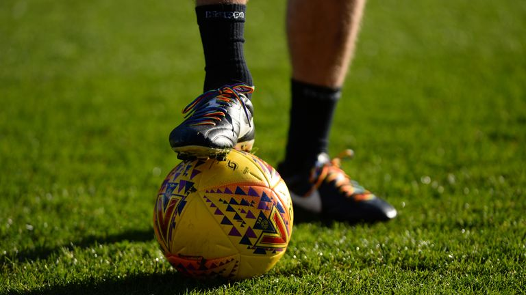British football will show its support for Rainbow Laces in November and December