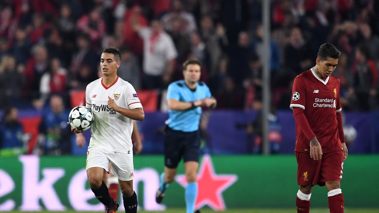 Liverpool threw a three-goal lead away to Sevilla
