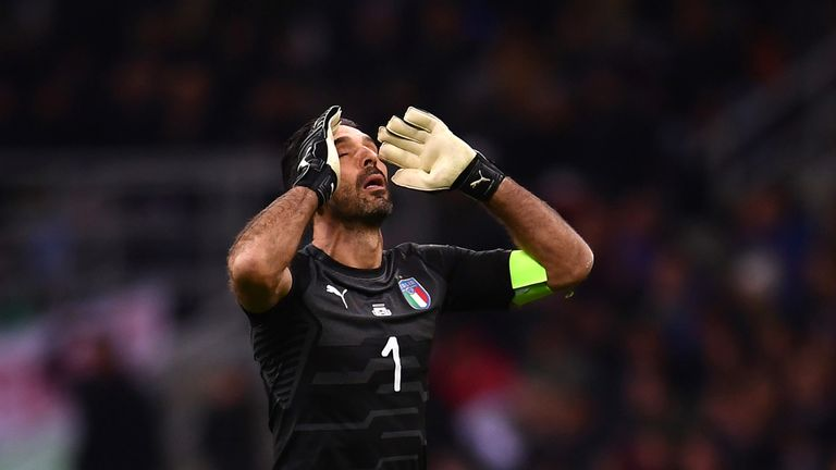 Gianluigi Buffon announced his international retirement after Italy failed to qualify - but has made a U-turn