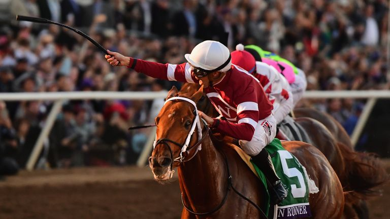 Gun Runner Dominates Breeders Cup Classic Racing News