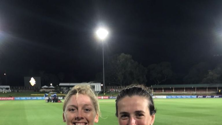 Heather Knight and Georgia Elwiss' unbeaten stand of 117 helped England secure a Test stalemate